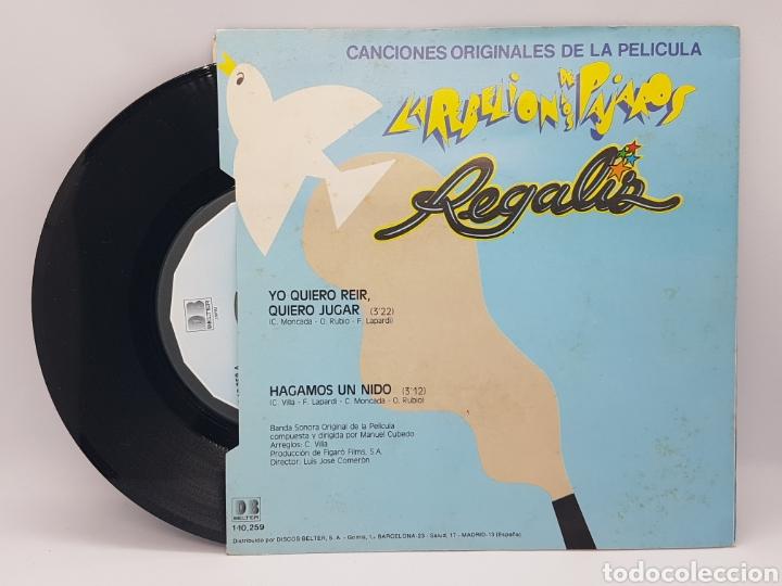 Discos de vinilo: REGALIZ ( LA REBELION DE LOS PAJAROS) YO QUIERO REIR, QUIERO JUGAR + HAGAMOS UN NIDO - BELTER - 1982 - Foto 4 - 192648905