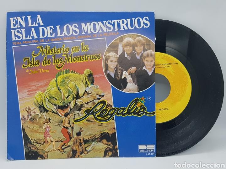 REGALIZ ( MISTERIO EN LA ISLA DE LOS MONSTRUOS) EN LA ISLA DE LOS MONSTRUOS + RATON VAQUERO - BELTER (Música - Discos - Singles Vinilo - Música Infantil)