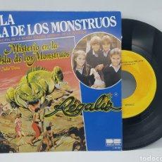 Discos de vinilo: REGALIZ ( MISTERIO EN LA ISLA DE LOS MONSTRUOS) EN LA ISLA DE LOS MONSTRUOS + RATON VAQUERO - BELTER. Lote 192649207