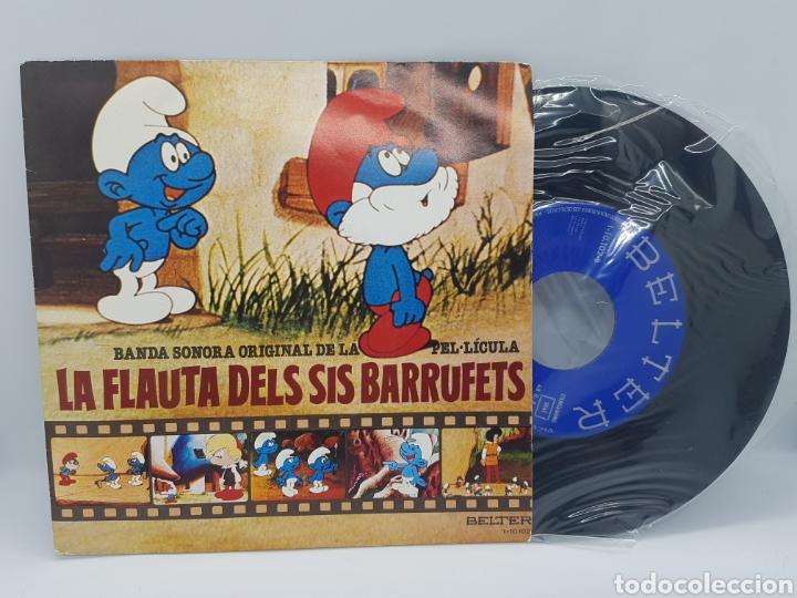 LA FLAUTA DELS SIS BARRUFETS/LA FLAUTA DE LOS PITUFOS: ELS BARRUFETS NO SON IGUALS+BARRUFEM 1980 (Música - Discos - Singles Vinilo - Música Infantil)