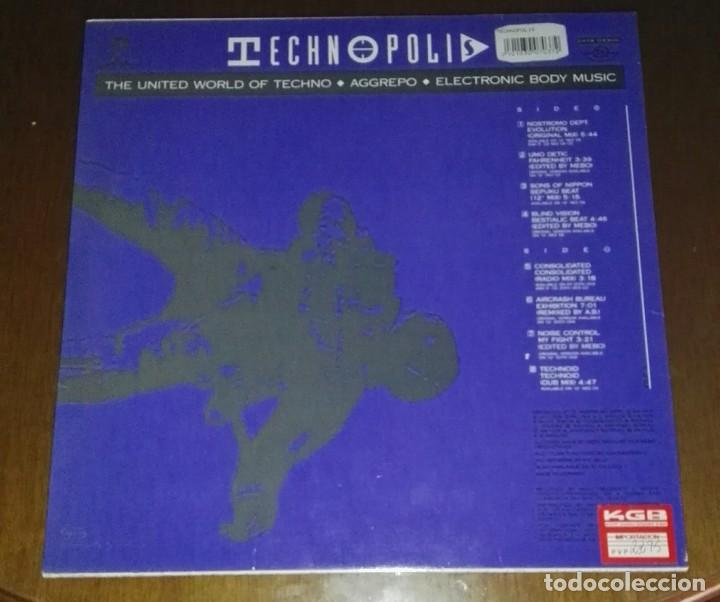 Discos de vinilo: TECHNOPOLIS TECHNO BEAT - Foto 2 - 192651577