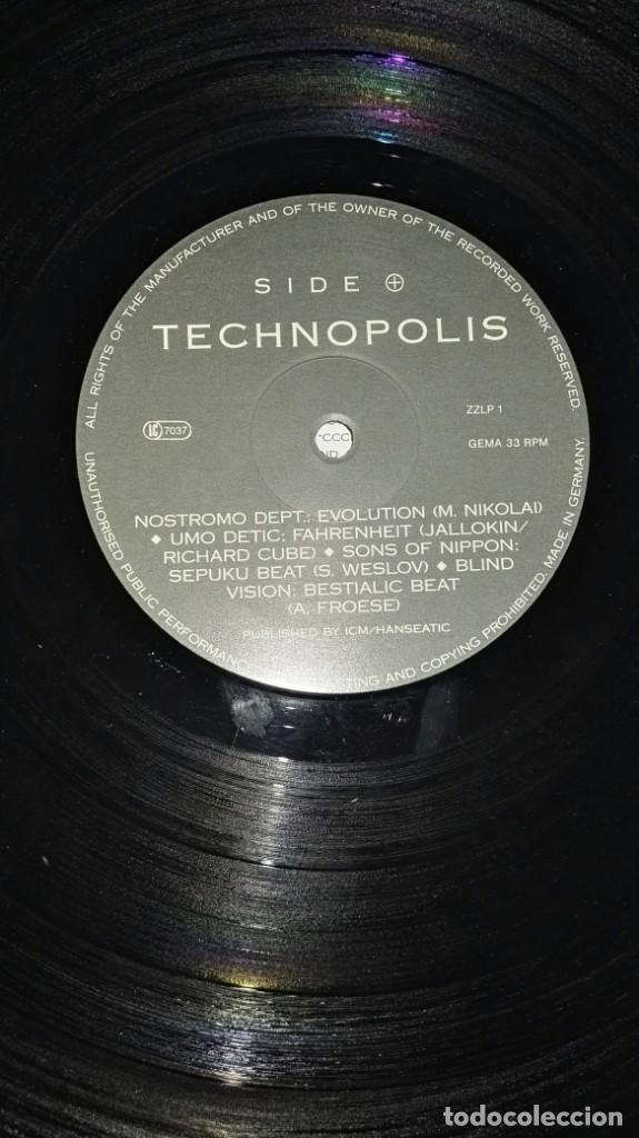Discos de vinilo: TECHNOPOLIS TECHNO BEAT - Foto 4 - 192651577