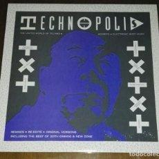 Discos de vinilo: TECHNOPOLIS TECHNO BEAT. Lote 192651577