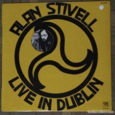 Discos de vinilo: ALAN STIVELL. LIVE IN DUBLIN. ZAFIRO, BS-32107. ESPAÑA, 1975.. Lote 192652280