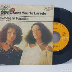 Discos de vinilo: BACCARA - THE DEVIL SENT YOU TO LAREDO + SOMEWHERE IN PARADISE - RCA - 1978. Lote 192671550