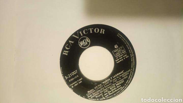 Discos de vinilo: ELVIS PRESLEY - PUÑOS Y LAGRIMAS (3-21007) RCA ESPAÑA, 1966 - Foto 2 - 48956393