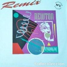 Disques de vinyle: STREAMLINE REMIX. NEWTON. Lote 192687476