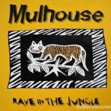 Disques de vinyle: MULHOUSE. RAVE IN THE JUNGLE. Lote 192687555