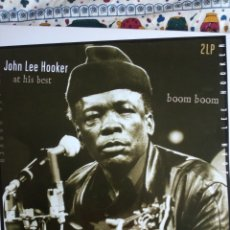 Discos de vinilo: JOHN LEE HOOKER - AT HIS BEST. Lote 192696441