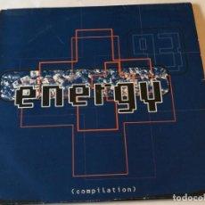Discos de vinilo: VARIOUS - ENERGY '93 - 1993 - 3LP. Lote 192698072