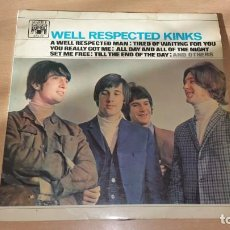 Discos de vinilo: LP KINKS WELL RESPECTED KINKS USA MARBLE ARCH 1965. Lote 192706482