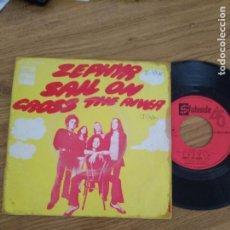 Discos de vinilo: ZEPHYR / SAIL ON / CROSS THE RIVER. Lote 192717407