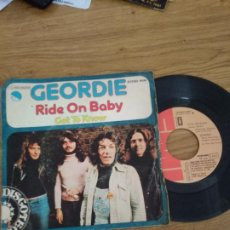 Dischi in vinile: GEORDIE / RIDE ON BABY / GOT TO KNOW. Lote 192717707