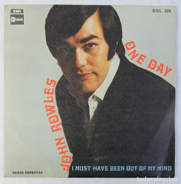 JOHN ROWLES - ONE DAY - DISCO DE VINILO EP 1969 (Música - Discos de Vinilo - EPs - Pop - Rock Extranjero de los 70)