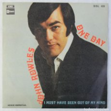 Discos de vinilo: JOHN ROWLES - ONE DAY - DISCO DE VINILO EP 1969. Lote 192718970