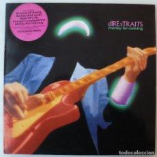 Discos de vinilo: DIRE STRAITS - MONEY FOR NOTHING (LP VERTIGO 1988 HOLANDA) MUY BUEN ESTADO. Lote 192729977