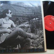 Discos de vinil: CARLOS SANTANA - BLUES FOR SALVADOR . LP.. Lote 192739308