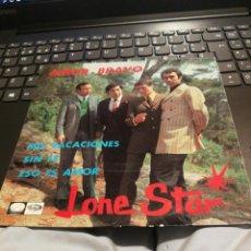 Discos de vinilo: SINGLE LONE STAR. AMOR BRAVO. MIS VACACIONES. SIN FE. ESO ES AMOR. EMI 1967 SPAIN . Lote 192755745