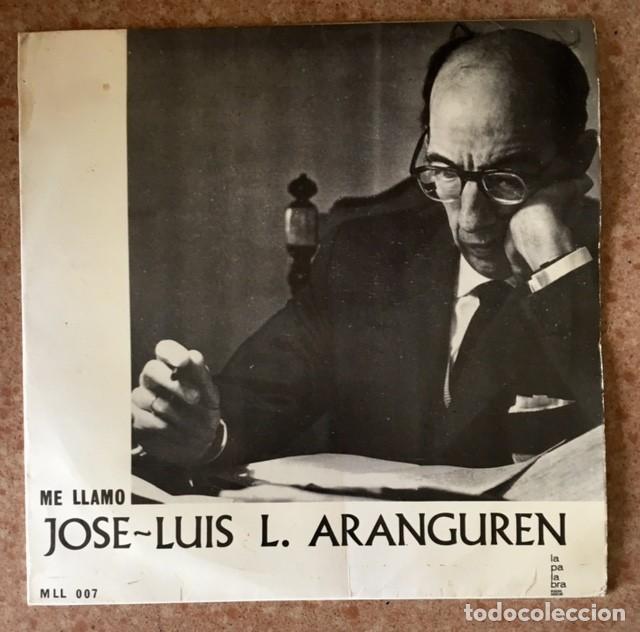 JOSÉ L. LÓPEZ ARANGUREN (Música - Discos de Vinilo - EPs - Otros estilos)