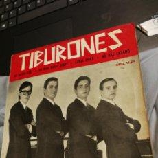 Discos de vinilo: LOS TIBURONES. ME SIENTO FELIZ, ETC. REGAL EMI 1965. EP.. Lote 192756227