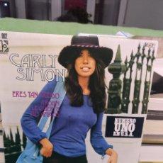 Discos de vinilo: CARLY SIMON. Lote 192757341