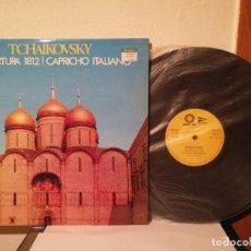 Discos de vinilo: LP - TCHAIKOVSKY CAPRICHO ITALIANO - DISCOS CLASICA - OBERTURA 1812. Lote 192761122