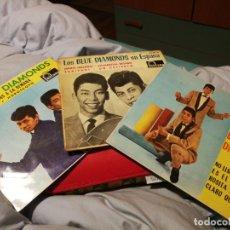 Discos de vinilo: 3 SINGLES DE LOS BLUE DIAMONDS - NO LLORES MAS.SIBONEY, MARIA DOLORES FONTANA 1963-65 ESPAÑA. Lote 192765673