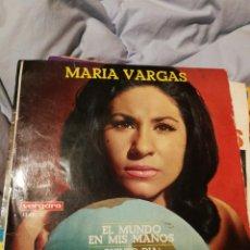 Discos de vinilo: MARIA VARGAS / EL MUNDO EN MIS MANOS + 3 (1967) VERGARA. Lote 192766430