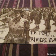 Disques de vinyle: SINGLE POSTAL FLEXI DISCO LE PONT DE LA RIVIERE KWAI COLONEL BOGEY FRANCIA. Lote 192773796