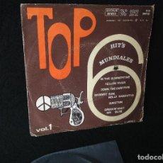 Discos de vinilo: TOP VOL.1 - HIT'S MUNDIALES, AVENUE CONTINENTAL, 1970. Lote 192776307