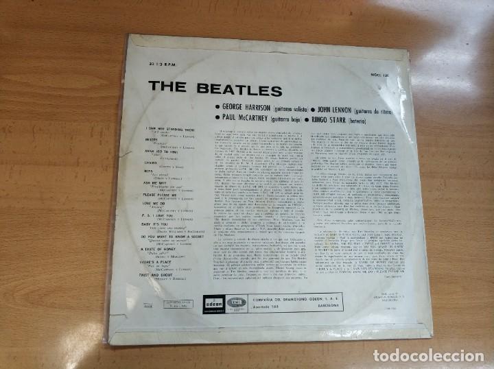Discos de vinilo: BEATLES - PLEASE PLEASE ME - 1 EDICION MOCL 120 MUCHISIMO USO, PROBADO - LP - Foto 2 - 192779107