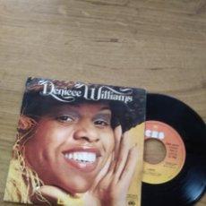 Discos de vinilo: DENIECE WILLIAMS / LIBRE / PORQUE ME QUIERES BABY. Lote 192802756
