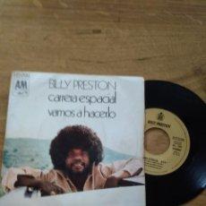 Discos de vinilo: BILLY PRESTON / CARRERA ESPACIAL / VAMOS A HACERLO. Lote 192802980