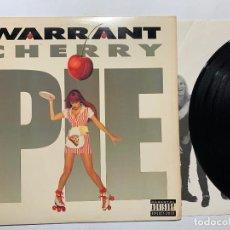 Dischi in vinile: LP WARRANT – CHERRY PIE EDICION USA DE 1990. Lote 192832216