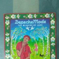 Discos de vinilo: DEPECHE MODE - THE MEANING OF LOVE - OBERKORN - 1982 MADE U.K.. Lote 192841295