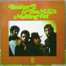 Discos de vinil: BOOKER T. & THE M.G.'S - MELTING POT LP STAX 1972. Lote 192842252