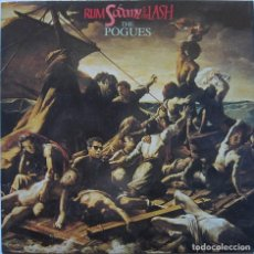 Discos de vinilo: THE POGUES. RUM, SODOMY & THE LASH. STIFF RECORDS 1985. Lote 192855227