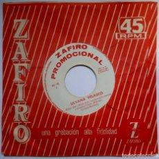 Discos de vinilo: SILVANA VELASCO - BUSCA UNA EXCUSA / ELLA ESTA CONTIGO - SINGLE PROMOCIONAL 1964 - ZAFIRO. Lote 192855915