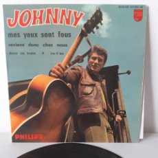 Discos de vinilo: EP JOHNNY HALLYDAY. MES YEUX SONT FOUS. + 3. FRANCE. 1965. PHILIPS.. Lote 192861100