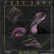 Discos de vinilo: CETU JAVU SO STRANGE LP MAXI SINGLE DE 1990 RF- 7996. Lote 192862910