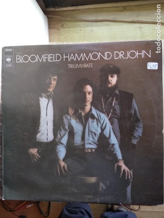 TRIUMVIRATE - BLOOMFIELD HAMMOND DR. JOHN (Música - Discos - LP Vinilo - Jazz, Jazz-Rock, Blues y R&B)