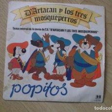 Discos de vinilo: DARTACAN Y LOS TRES MOSQUEPERROS, POPITOS, BELTER 1982. Lote 192875660