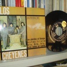 Discos de vinilo: LOS CHEYENES EP NO PIERDAS EL TIEMPO + 3 R&B POP GARAJE DISCO OBSEQUIO NUEVO ESPAÑA . Lote 192875705