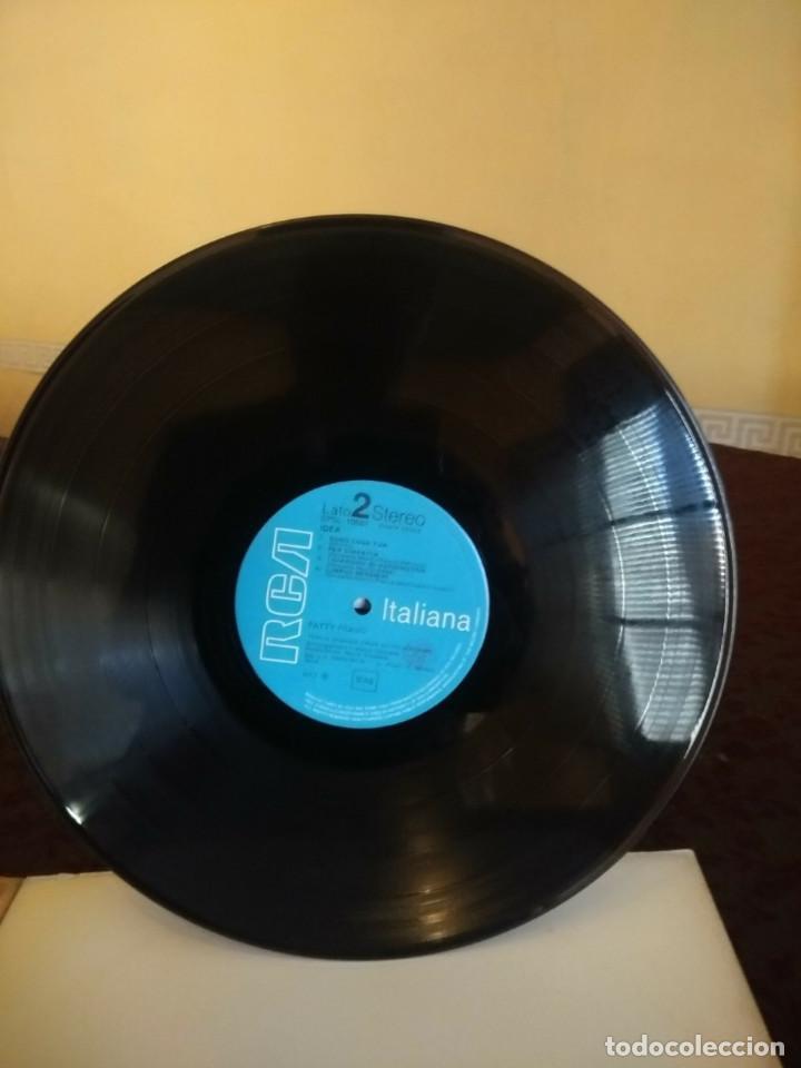 Discos de vinilo: LP PATTY PRAVO : PAZZA IDEA ( EDICION ORIGINAL ITALIANA DE 1973, CONTENIENDO ALBUM DE DIBUJOS - Foto 6 - 47082282