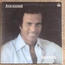 Discos de vinilo: JULIO IGLESIAS. EMOCIONES. GATEFOLD. COLUMBIA TXS 3122. ESPAÑA, 1978. FUNDA VG++ DISCO VG++.. Lote 192091000