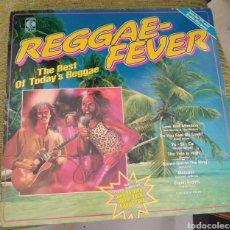 Discos de vinilo: REGGAE FEVER - THE BEST OF TODAY'S REGGAE. VV. AA.. Lote 192884471
