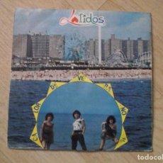 Discos de vinilo: LATIDOS,CALOR DE VERANO,1984 BLANCO Y NEGRO. Lote 192887833