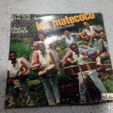 Discos de vinilo: DISCO VINILO LOS MATECOCO CHEVERE CHA CHA BEL AIRE MEDIUM . Lote 192901780