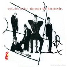 Discos de vinilo: SPANDAU BALLET * LP 180G REMASTERED * THROUGH THE BARRICADES + POSTER * PRECINTADO. Lote 192901836