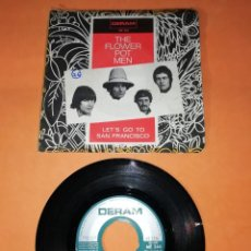 Discos de vinilo: THE FLOWER POT MEN. LEST GO TO SAN FRANCISCO. DERAM RECORDS 1967. Lote 192904656